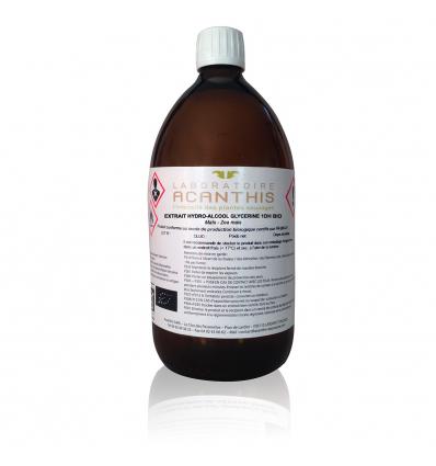 Extrait hydro-alcoolique glycériné 1DH de Maïs BIO en flacon verre de 1L - Zea mais