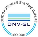 Certification de système qualité ISO 9001